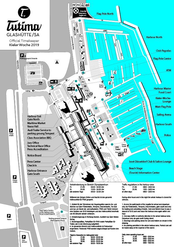Kieler Woche Sailing: Service & FAQ for Sailors on